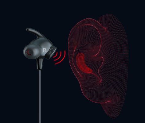 right earbud with heart monitor sensor