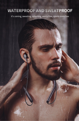 water-proof neckband earphones